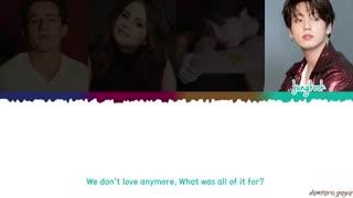 Jungkook, Jimin, Charlie Puth, Selena Gomez - 'We Don't Talk Anymore' Lyrics