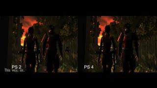 مقایسه گرافیک بازی Onimusha Warlords بین PS4 و PS2