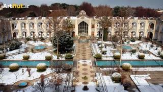مهمانسرای عباسی یا هتل شاه عباس اصفهان کهن ترین هتل دنیا