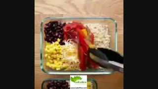 یک پیشنهاد جالب برای تهیه غذای روزهای هفته کاری - سبزی لاین