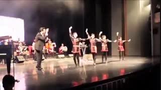 بالرین ها و رقاص های رقص آذری گروه اوتلار