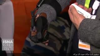 ویلچری که بدون دخالت دست کار میکند