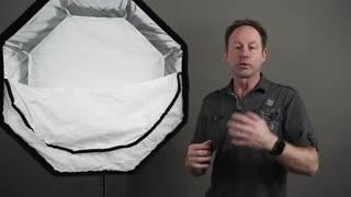 چه ابعادی از اکتاباکس برای نورپردازی در محیط باز مناسب است؟