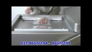 دستگاه وکیوم بسته بندی دوکابین