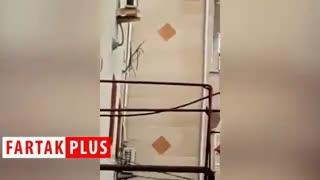 ویدئویی جدید از لحظه دستگیری شرور مسلح در گیلان