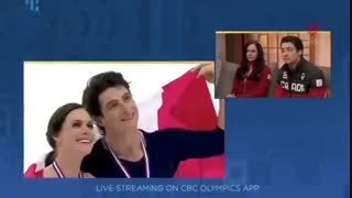 Tessa Virtue / Scott Moir love