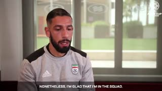 مصاحبه دوربین AFC با اشکان دژاگه پیش از دیدار امروز برابر عمان