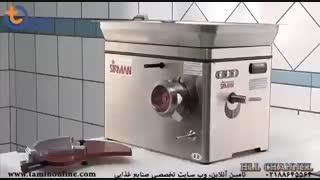 چرخ گوشت و همبرگر زن نیمه صنعتی