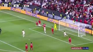 خلاصه بازی ایران و عمان در جام ملتهای آسیا با گزارش عباس قانع