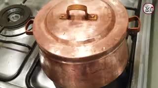 آموزش تهیه غذای بدون روغن و سالم تاس کباب با نارگل - Tarze tahieh Tas Kebab With Nargol