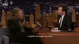 حضور ساموئل ال. جکسون در تاک شوی Jimmy Fallon با زیرنویس فارسی