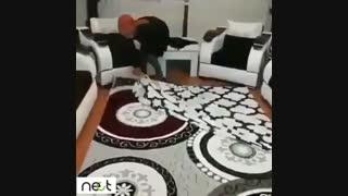 خلاق باشیم و با کمترین هزینه فرش خود را عوض کنیم   nect.ir