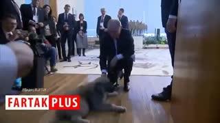 باغ وحشی از هدایای دیپلماتیک به پوتین