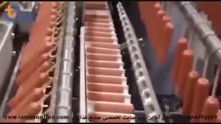 خط تولید هات داگ سوخاری