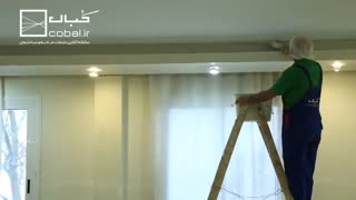 اجرای نقاشی ساختمان با کُبال