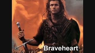 آهنگ بی کلام * از فیلم شجاع دل * Braveheart * جیمز هورنر
