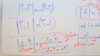 ریاضی 9 - فصل 2 - بخش 3 : معرفی قدر مطلق