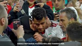 مصاحبه AFC با مرتضی پورعلی گنجی مدافع تیم ملی کشورمان