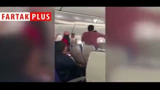 کتککاری مسافر مست در هواپیما، پرواز را به مبدا بازگرداند