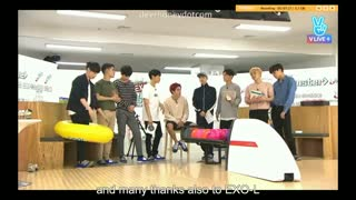 برنامه EXO's Bowling Competition - V☜ بولینگ بازی کردن اکسو☞ (part5_آخر)