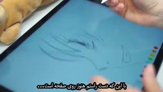 قلم Apple pencil در دست هنرمندان ژاپن