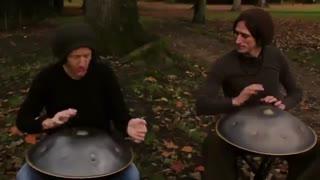 کاور آهنگ once again با hand drum