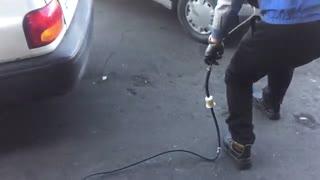 تنظیم موتور چهار گاز
