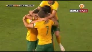 خلاصه بازی استرالیا و امارات در یک چهارم نهایی بازیهای آسیایی (امارات 1-استرالیا0)