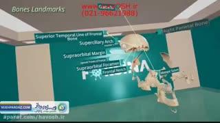 آموزش آناتومی با واقعیت مجازی