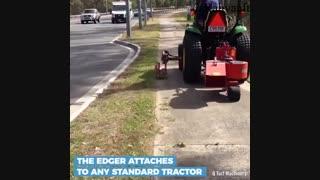 این دستگاه کمک می کند که پیاده روهایی منظم تر و جذابتر داشته باشیم