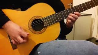 ملود عاشقانه از فرزاد فرزین با گیتار نت و تبلچر بهنام