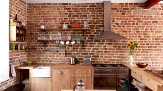 ۵۰ ایده برای استفاده از آجر در طراحی داخلی ...