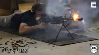 شلیک 700 گلوله برای ذوب کردن صدا خفه کن