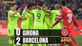 خلاصه دیدار خیرونا 0_2 بارسلونا ( هفته بیستویکم لالیگا اسپانیا)