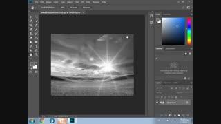 سیاه و سفید کردن عکس در فتوشاپ