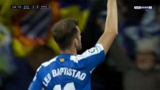 گل اول اسپانیول به رئال مادرید توسط لئو باپتیستائو