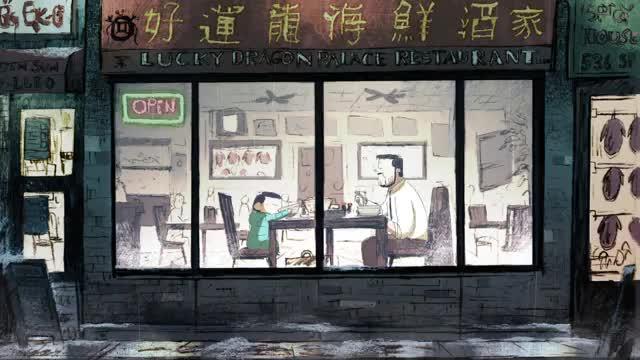 انیمیشن کوتاه Weekends 2017