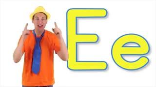 The Letter E Song - آموزش الفبای انلیسی برای کودکان
