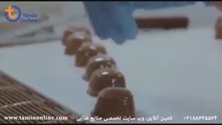 خط تولید و روکش دهی شکلات