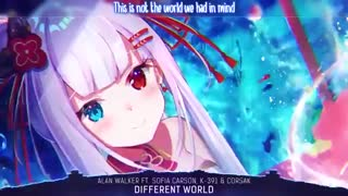 Nightcore - Different World _دنیای متفاوت