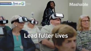 واقعیت مجازی به کمک سالمندان می آید!