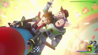 تریلر هنگام عرضه بازی Kingdom Hearts 3 - بازیمگ
