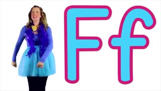 The Letter F Song - Learn the Alphabet