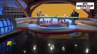 آلمانی صحبت کردن جواد خیابانی در برنامه زنده