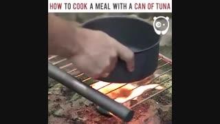 چگونه با استفاده از کنسرو تن ماهی غذا بپزیم ؟