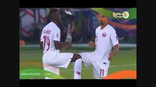 سوپر گل های قطر به ژاپن در فینال آسیا (12-11-1397)