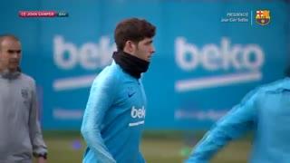 مراسم کامل معارفه تودیبو بازیکن جدید بارسلونا
