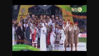 مراسم اهدای جام به قطر (12-11-1397)