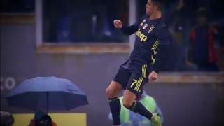 کریستیانو رونالدو برترین بازیکن یوونتوس در ماه ژانویه