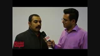 مصاحبه با مرتضی هدایی مدیر فیلمبرداری قصر شیرین